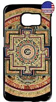 Spiritual Hindu Symbol Sri Yantra Case Cover For Galaxy S5 S6 S7 Edge Note 4 5 7