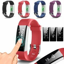 Aquarius Touch Screen Fitness Activity Tracker with Dynamic Heart Rate Monitor