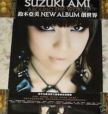 Japan Ami Suzuki Around the World Taiwan Promo Poster