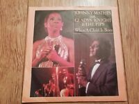 """JOHNNY MATHIS & GLADYS KNIGHT & THE PIPS * WHEN A CHILD IS BORN * 7"""" SINGLE P/S"""