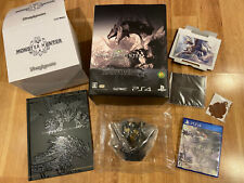 Monster Hunter World Japan Limited Collector'S Edition Ps4 PlayStation 4