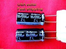 12 pcs   -  1200uf 10v  low ESR electrolytic capacitors
