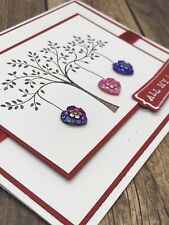 Stampin' Up Valentine Card Kit - Tree Of Hearts, Love, All My Love, Handmade