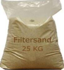 Filtersand / Quarzsand - Körnung: 0,4 - 0,8 mm, 25 kg Sack