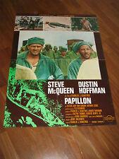 SOGGETTONE,1973,PAPILLON STEVE MC QUEEN DUSTIN HOFFMAN,SCHAFFNER