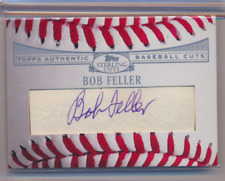 BOB FELLER 2008 TOPPS STERLING BASEBALL CUTS AUTO HOF