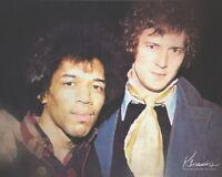 Jimi Hendrix & Eric Clapton 60's Oil Style Art Print Various Sizes/Matting Opts