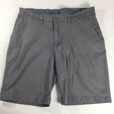 NWT Nat Nast Stretch Classic Straight Shorts Mens 30 Black Flat Style M3988NN