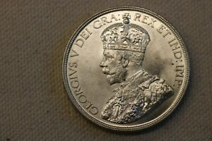 CANADA 1936 SILVER DOLLAR $1 Choice BU  KING GEORGE V WORLD COIN