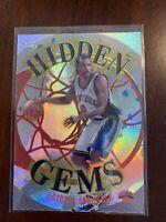 2000-01 Topps Latrell Sprewell Hidden Gems Insert Card HG2