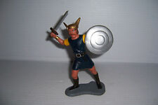 "VINTAGE 1963 LOUIS MARX & CO VIKINGS  6"" FIGURE WITH SWORD"