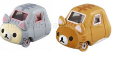 New ×2 pcs Set Dream Tomica Rilakkuma Korilakkuma San-x Cat TAKARA TOMY Japan