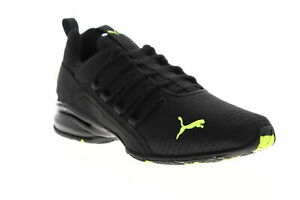 Puma Axeion Rip  Mens Black  Athletic Running Shoes Size 8.5 Free shipping