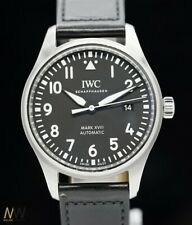 IWC pilota's Watch Mark XVIII INOX/AUTOMATICO IN PELLE iw327009
