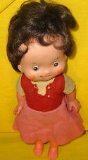 HEIDI TOEI PLASTIC posable doll BAMBOLA exclusive 1975 FAMOSA SPAIN FIGURE SUIYO