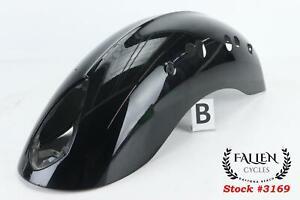 2009 Victory Vegas 8 Ball CRUISER BLACK Rear Back Fender 1014064-266 *NO DENTS