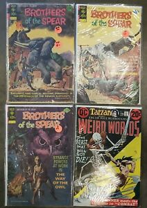Brothers of the Spear (1972) #9 Fair, 15 17 Good, Weird Worlds 5 Very Good - Lot