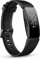 Fitbit Inspire HR Heart Rate & Fitness Tracker, S & L bands Included - Black