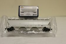 Athearn Genesis HO Trinity 3-bay Covered Hopper Data Only Gray Athg89975