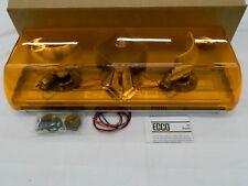 """ECCO 5221001 Halogen Rotating Amber 22"""" Mini Light Bar Permanent Mount"""