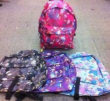 LEAF & FLOWER PRINT Backpack, Great for School, Work, Travel  JBBP241FLOWER
