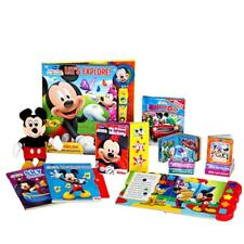 Mickey Mouse Clubhouse Deluxe Read and Play GIft Set Disney Book Toy New NIB