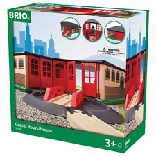BRIO 33736 Grand Roundhouse for Wooden Train Set