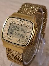 SEIKO VINTAGE DIGITAL LCD WATCH - 1984 A708-5000 WORLDTIME