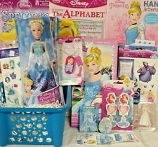 NEW PRINCESS DISNEY CINDERELLA EASTER TOY GIFT BASKET TOYS DOLL ANY OCCASION
