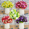 21Head Artificial Silk Fake Rose Flowers Floral Wedding Bouquet Party Home Decor