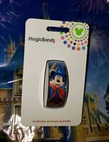 Disney Parks SORCERER MICKEY MOUSE Blue Magic Band Magicband 2 New