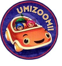 New listing Team umizoomi umicar heat transfer iron on car not embroidered 2 inch
