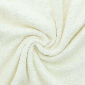 Tissu éponge de bambou ecru