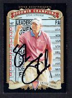 Steve Stricker #60 signed autograph auto 2012 Upper Deck Goodwin Champions Card