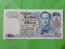 Thailand 50 Bath 1985-1996 (UNC) 全新 泰国50泰铢 1985-1996  3B 7573820