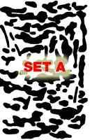 Minicam Mini-Multicam Cerakote Painting Stencil Vinyl Duracoat Airbrush Camo DIY