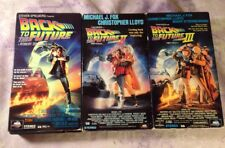Back To The Future Trilogy 1,2 & 3 Lot of 3 VHS Tapes