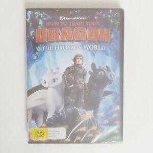How to Train Your Dragon The Hidden World Movie DVD Region 4 AUS Free Postage