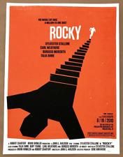 Olly Moss ROCKY Poster Ltd Edition 2010 MONDO Screen Print Star Wars Evil Dead