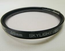 Hoya 49mm HMC Skylight 1B Lens Filter Made in Japan