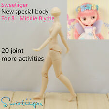 """Sweetiiger special new body joited not azone 8"""" Middie Blythe doll Custom Use"""