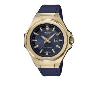 G-Shock G-MS Women Solar Powered Navy Blue Resin Strap Watch 38.8mm NWT 220$+TAX
