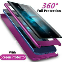 360°Protection+Protect Film Phone Case Cover For Samsung Galaxy S8 S9 Plus Note8