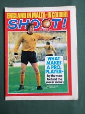 SHOOT-FOOTBALL MAGAZINE-20 MAR 1971- PAUL REANEY - ENGLAND -WOLFGANG OVERATH