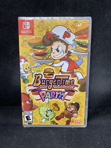 BurgerTime Party!  (Nintendo Switch) BRAND NEW