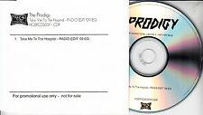 THE PRODIGY Take Me To The Hospital 2009 UK 1-trk promo test CD Radio Edit '09EQ