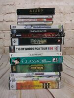 PC Video Game Mixed Lot of 15 Riven Sims Warcraft Bioshock