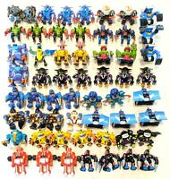 CHOOSE: Vintage 1993 Z-Bots Figures * Galoob * Series 3: Beedy to Radial