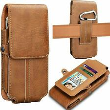 For Samsung Galaxy J2/J3/J7/A6 Leather Phone Holster Pouch Case With Card Holder