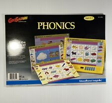 1991 GeoSafari Phonics Learning Cards 10 Cards 20 Lessons EI-8751 Ages 4-7